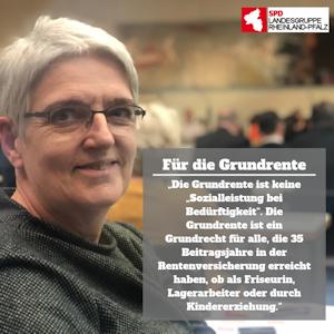 Gabi Weber, stellvertretende Landesgruppensprecherin, zur Grundrente